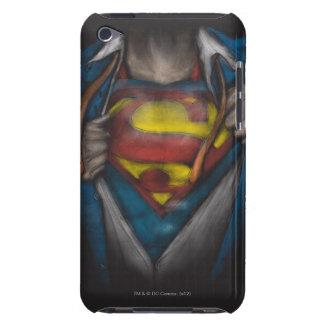 Étui iPod Touch Le coffre de Superman | indiquent le croquis