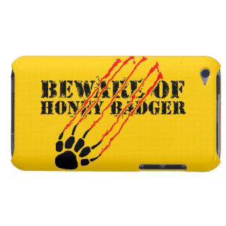 Étui iPod Touch Prenez garde du blaireau de miel
