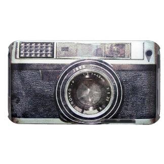 Étui iPod Touch Vieil appareil-photo noir