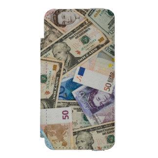 étui porte-feuille iPhone Coque-portefeuille iPhone 5 Incipio Watson™