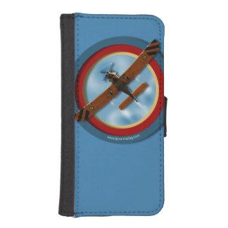 Étui portefeuille pour iphone 5/5s Airplane One Coque Avec Portefeuille Pour iPhone 5