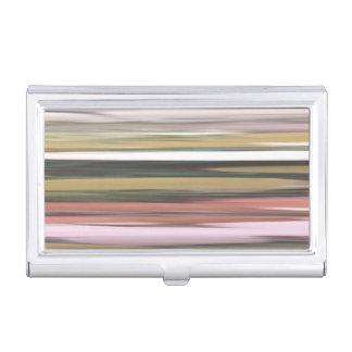 Étui Pour Cartes De Visite #2 abstrait : Tache floue de couleurs d'automne