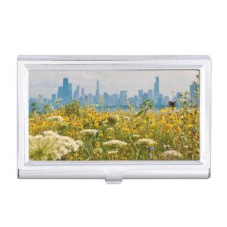 Étui Pour Cartes De Visite Chicago comme vu de l'oiseau du port de Montrose