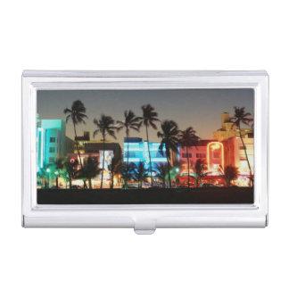 Étui Pour Cartes De Visite Commande des Etats-Unis, la Floride, Miami Beach,