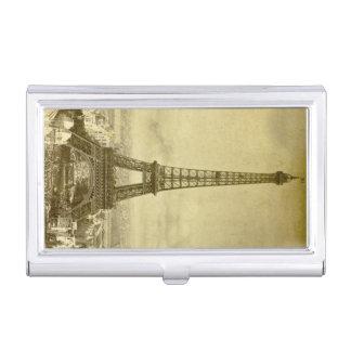 Étui Pour Cartes De Visite Exposition universelle vintage de Paris de Tour