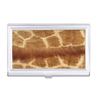 Étui Pour Cartes De Visite Fourrure de girafe