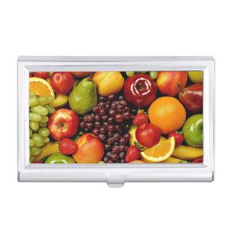 Étui Pour Cartes De Visite Fruits Up_