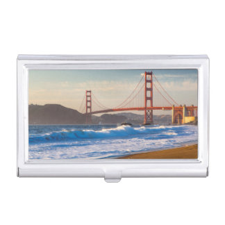 Étui Pour Cartes De Visite Golden gate bridge de plage de Baker