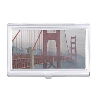 Étui Pour Cartes De Visite Golden gate bridge en brume