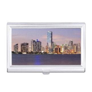 Étui Pour Cartes De Visite Horizon des Etats-Unis, la Floride, Miami au