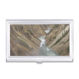 Étui Pour Cartes De Visite La rivière Yellowstone