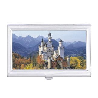 Étui Pour Cartes De Visite Le Neuschwanstein de fantaisie est l'un de trois