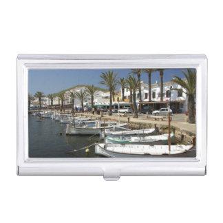 Étui Pour Cartes De Visite L'Europe, Espagne, Minorca (aka Menorca). Pêche