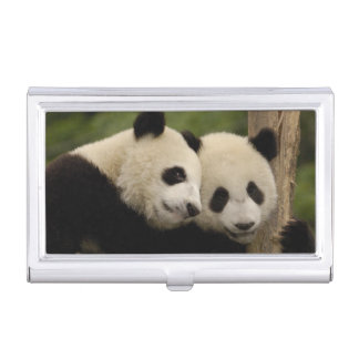 Étui Pour Cartes De Visite Melanoleuca d'Ailuropoda de bébés de panda géant)