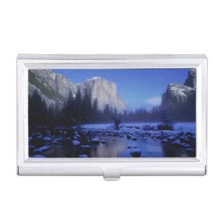 Étui Pour Cartes De Visite Montagne d'EL Capitan, parc national de Yosemite,