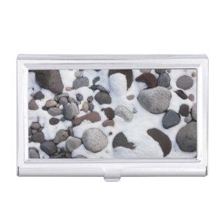 Étui Pour Cartes De Visite Neige et roches, parc national de mont Rainier 2