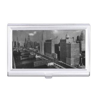 Étui Pour Cartes De Visite Novembre 1939 :  La ville de Chicago