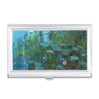 Étui Pour Cartes De Visite Nymphéas de Claude Monet