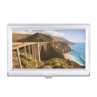 Étui Pour Cartes De Visite Pont de Bixby, grand Sur, la Californie,