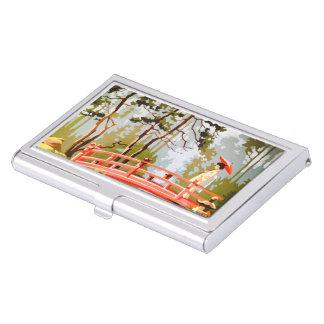 Étui Pour Cartes De Visite Porte-cartes de carte de visite asiatique vintage
