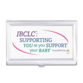 Étui Pour Cartes De Visite Porte-cartes de carte de visite de jour d'IBCLC®