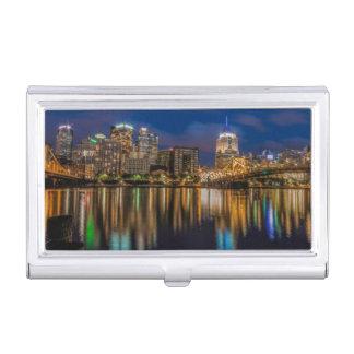 Étui Pour Cartes De Visite Réflexions de Pittsburgh