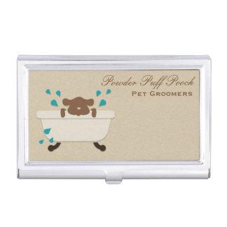 Étui Pour Cartes De Visite Service de toilettage d'animal familier