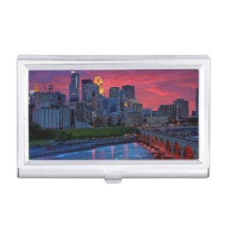 Étui Pour Cartes De Visite Sucrerie d'oeil de Minneapolis