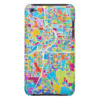 Étuis Barely There iPod Carte colorée d'Atlanta