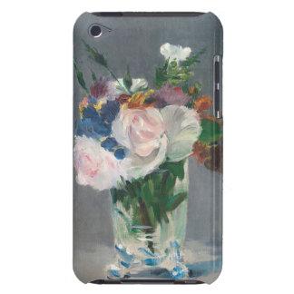 Étuis Barely There iPod Manet | fleurit dans un vase en cristal, c.1882