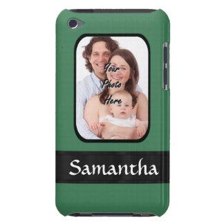 Étuis Barely There iPod Modèle photo fait sur commande vert en bon état