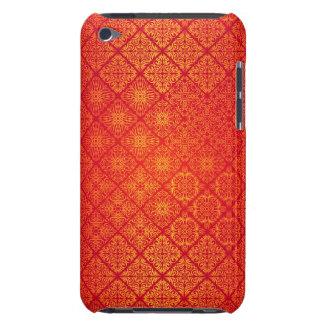 Étuis Barely There iPod Motif antique royal de luxe floral