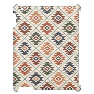 Étuis iPad Mélange de couleur de motif stylisé par symbole