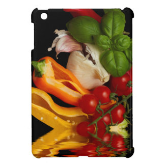 Étuis iPad Mini Ail de tomates de Basil de poivrons