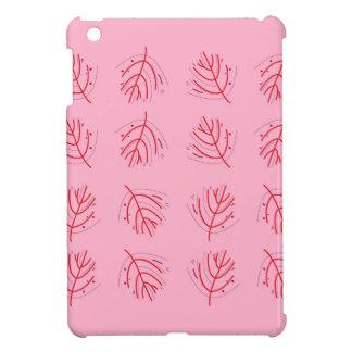 Étuis iPad Mini Algues ROUGE-ROSE. T-shirts et plus