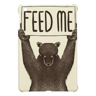 Étuis iPad Mini Alimentez-moi et dites-moi que je suis joli ours