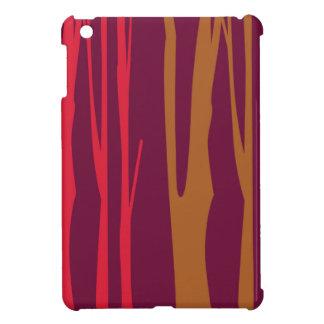 Étuis iPad Mini Arbres peints à la main de CHAMBRE À COUCHER de