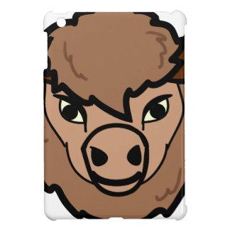 Étuis iPad Mini art de visage de bison