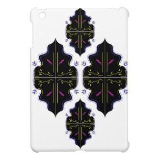 Étuis iPad Mini Art oriental noir et blanc de mandala