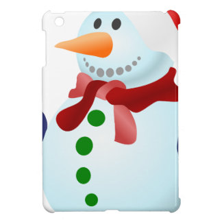Étuis iPad Mini bonhomme de neige