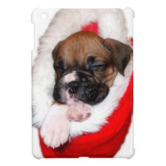 Étuis iPad Mini Cas d'ipad de chien de boxeur de vacances mini