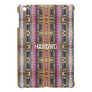 Étuis iPad Mini Cas   dur brillant de HAMbyWG - image de hippie