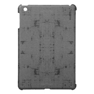 Étuis iPad Mini Cas   dur de HAMbyWG - charbon de bois affligé