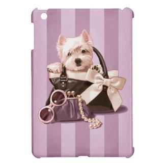Étuis iPad Mini Chiot de Westie dans le sac à main
