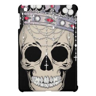 Étuis iPad Mini Couronne d'horreur de Halloween de cadre d'os de
