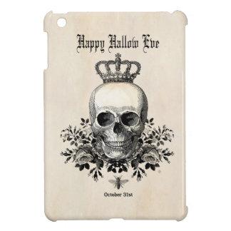 Étuis iPad Mini Crâne vintage moderne de Halloween avec la