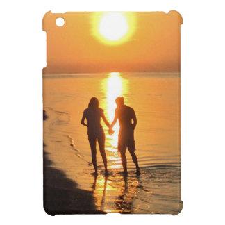 Étuis iPad Mini Deux amants au lever de soleil