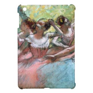 Étuis iPad Mini Edgar Degas | quatre ballerines sur l'étape