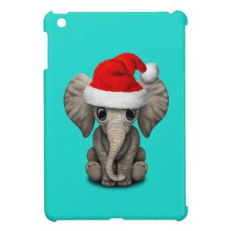 Étuis iPad Mini Éléphant de bébé utilisant un casquette de Père