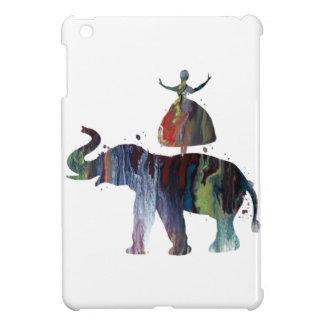 Étuis iPad Mini Éléphant et ballerine